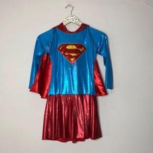 Girls Superman Costume   Size Large